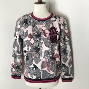 Maje floral sweatshirt